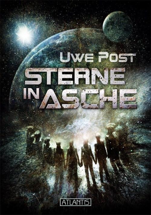 Sterne in Asche von Uwe Post, Cover von Mark Freier