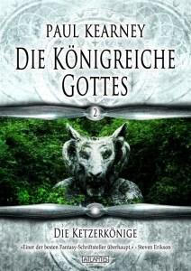 Paul Kearney - DIE KÖNIGREICHE GOTTES 2 - Front