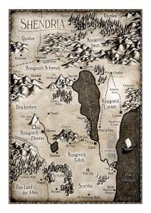 Martin Kay - DAS BUCH SHEN - Karte - koloriert - online